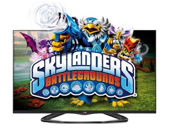LG 55LA6608 139 cm (55 Zoll) Cinema 3D LED-Backlight-Fernseher, EEK A+ (Full HD, 400Hz MCI, WLAN, DVB-T/C/S, Smart TV) schwarz  PLUS 2 Geschenke