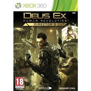[UK] Deus Ex: Human Revolution Director's Cut : Xbox 360