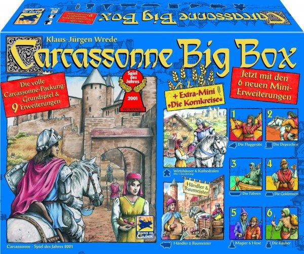 [Lokal München Real] Carcassonne Big Box