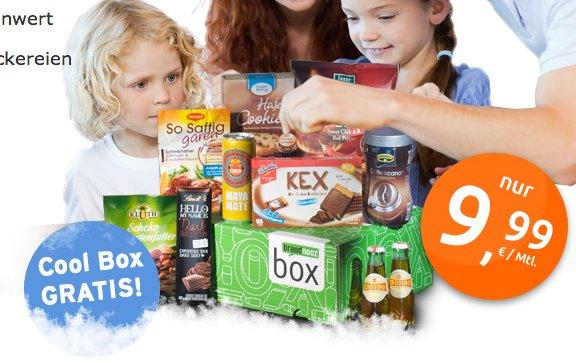 1 Brandnooz Cool Box + 1 Brandnooz Box für 9,99€ @Brandnooz