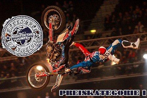 (Veltins Arena) - 2 Tickets für das Freestyle Motocross-Event 2014 in PK1 zum Preis von einem