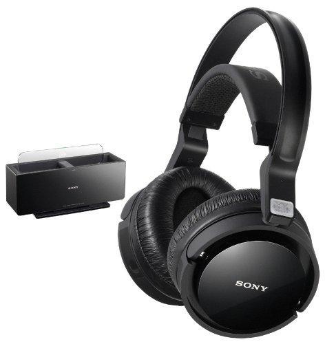 [Ausverkauft] Sony MDR-RF4000K Kabelloser Digital-Funkkopfhörer mit Aufladestation schwarz @ WHD
