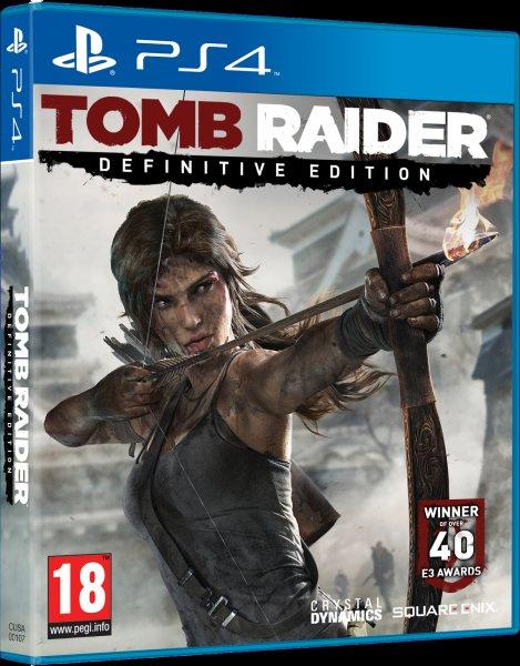 Tomb Raider - Definitive Edition PS4/XBOXONE - *ZAVVI - UK IMPORT*