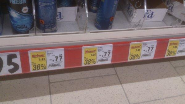 [Kaufland] 66% Rabatt: FA Deo Spray versch. Sorten ab 0,43€/Stück - Vorrat für den Sommer (auch als Flammenwerfer verwendbar)