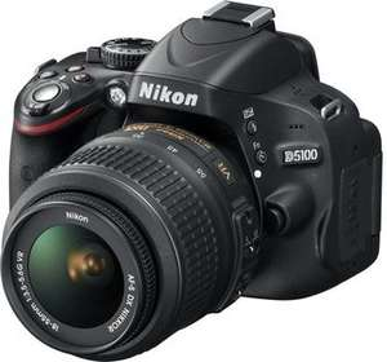 [Amazon WHD] Nikon D5100 18-55mm VR(!) Kit ab 335€