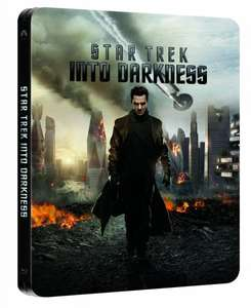 Star Trek - Into Darkness 3D - Limited Steelbook Lenticular Edition [3D Blu-ray + Blu-ray] für 15€
