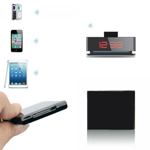 [Cn @Ebay] Mini Bluetooth Music Audio 30 Pin Receiver für Apple kompatible Audio Speaker bzw Docks Farbe schwarz A2DP V1.2 fähig