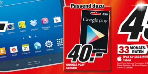 [Lokal?] Mediamarkt Mainz - Google Play-Guthabenkarte für 40€ statt für 50€