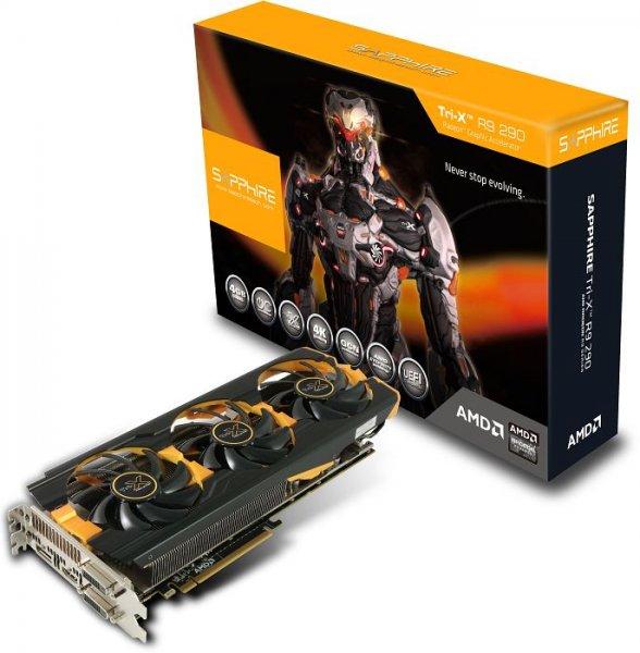 Sapphire Radeon R9 290 Tri-X OC, 4GB GDDR5