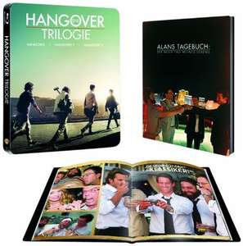 Hangover Trilogie Steelbook als Blu-ray Disk