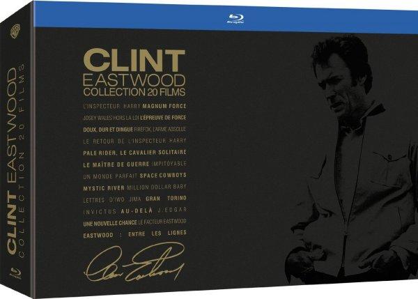 Clint Eastwood - Collection 20 Filme [Blu-ray] für 74€ @Amazon.fr