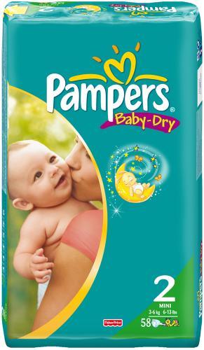 Megapack Pampers Baby Dry ab 14,44EUR versandkostenfrei bei AMAZON!!!
