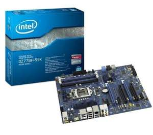 Intel DZ77BH-55K Main­board Sockel 1155 (Intel Z77, 4x DDR3 Spei­cher, ATX) @Amazon.fr