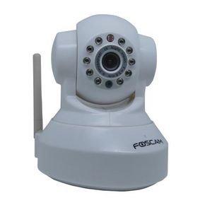FOSCAM FI8918W, steuerbare WLAN-Überwachungskamera, weiß Notebooksbilliger