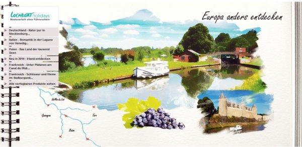 Locaboat Hausbooturlaub bei vente-privee.com