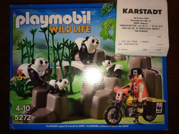 (Lokal - Karstadt) - Playmobil 5272 WWF Pandas oder 5273 WWF Okapis und Gorillas je 4€