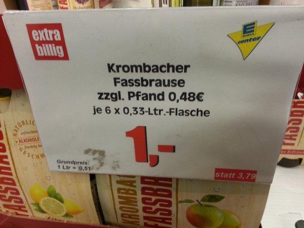 (Lokal Berlin) Edeka Center Krombacher´s Fassbrause 6er Pack für 1,00 €