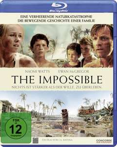 Saturn Late Night Angebot :The Impossible Blue Ray 6€ bei Abholung sonst +1,99€ 40% Ersparnis