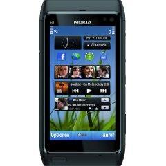 Nokia N8 Smartphone (12 MP Carl-Zeiss Kamera, Xenon Blitz, HDMI-Anschluss, Pinch-Zoom, Ovi Karten) dark grey @WHD