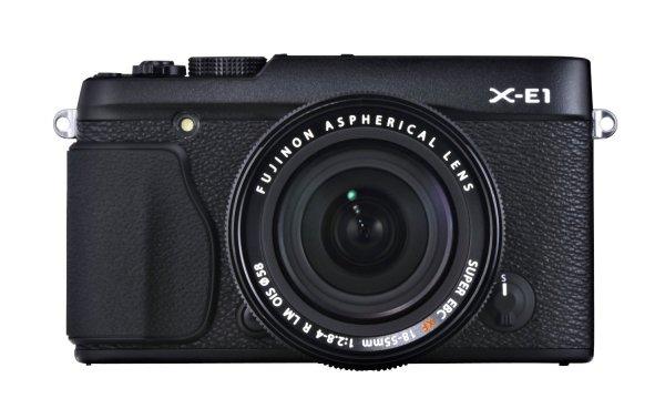 Fujifilm Fuji X-E1 Kit in schwarz inkl. 18-55mm Objektiv für 724,87 EUR bei Amazon.es