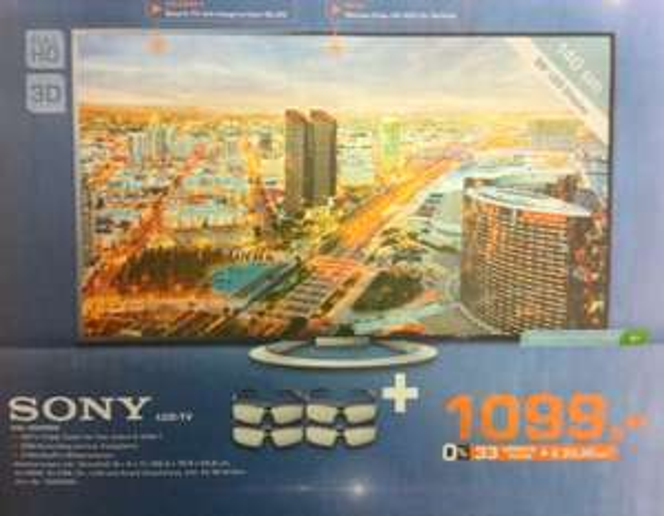 Sony KDL 55 W 805 für 1099,- € (Lokal Bielefeld)