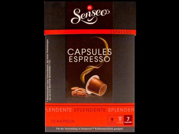 SENSEO Lungo Elegante und SENSEO CAPSULES Espresso Splendente für 1€ bei Saturn