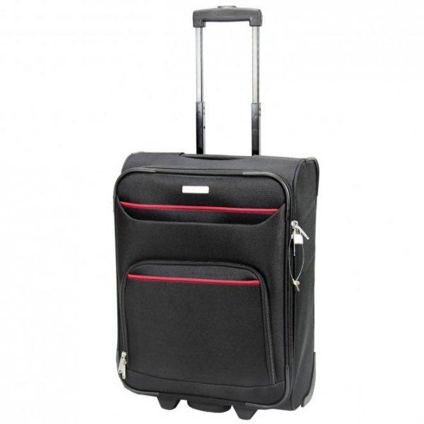 Travelite Jonny Kabinentrolley 52 cm schwarz oder blau 23,70€ - handgepäck; -32% zu idelo