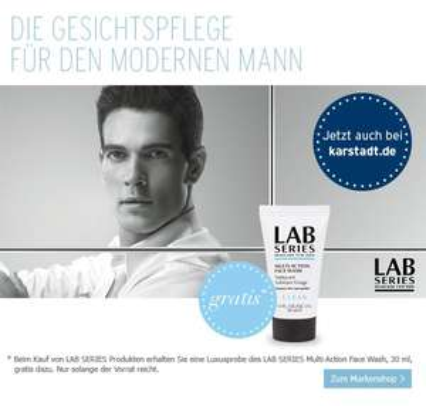 Lab Series Multi-Action Face Wash gratis @ Karstadt online