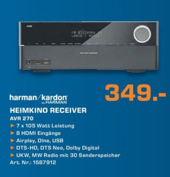Saturn [Lokal Essen/Oberhausen/Mühlheim] Harman Kardon AVR 270 7.1 Receiver