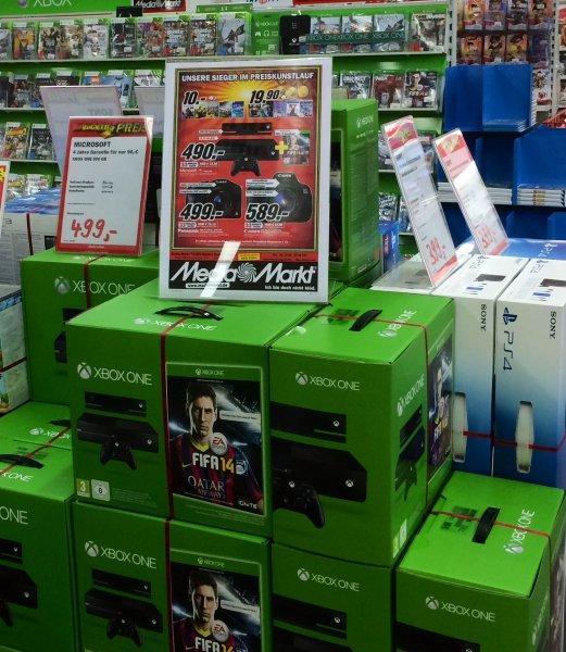 Lokal Media Markt Zwickau XBOX ONE 500 GB mit Kinect + Fifa14