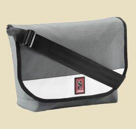 Chrome Classic Messenger Bag in Weiss-Grau - Made in USA Umhängetasche