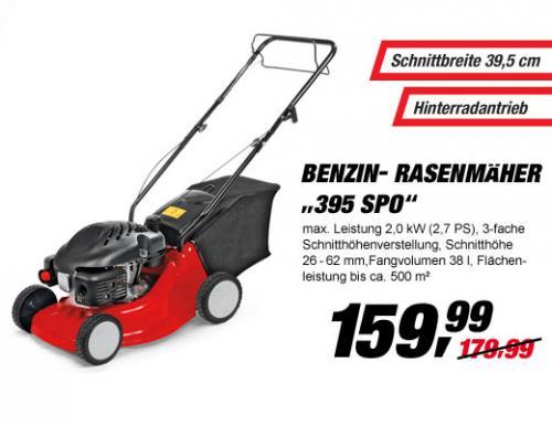 Benzin Antriebsmäher MTD 395 SPO für 159.99€