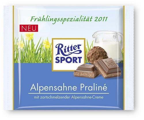 Ritter Sport Frühlingsspezialität 2011 Angebot @Real (evtl. lokal?)