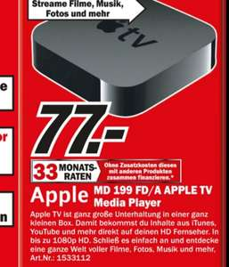 [MM Sindelfingen] Apple TV 77€