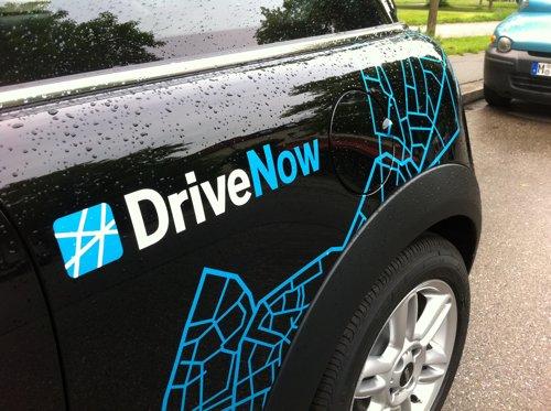 DriveNow Carsharing Anmeldung inkl. 15 Freiminuten