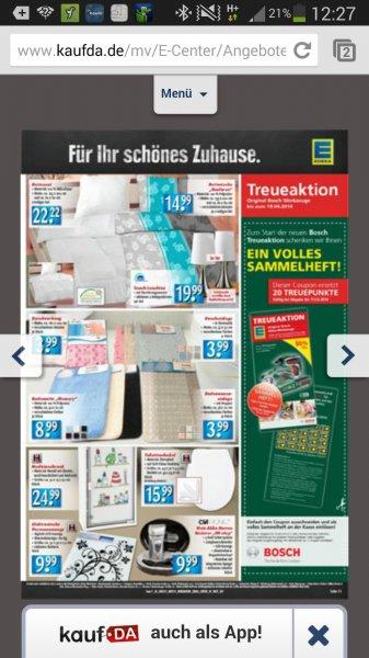 Lokal? Bosch IXO IV bei Edeka dank gratis Prämienheft für 29,99 EUR