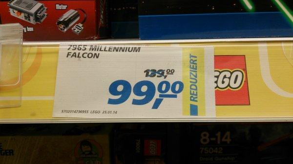 (lokal) REAL Lessing Lego Millennium Falcon