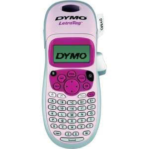 Dymo LetraTag LT-100H Beschriftungsgerät mit Batterienutzung statt ca. 20 Euro bei Idealo nun 15 Euro - Vorsicht: Pink!