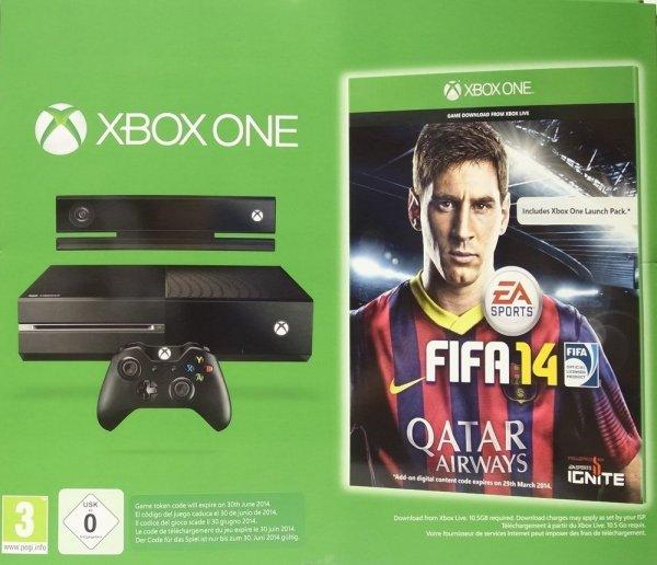 Xbox One Bundle mit Kinect & FIFA 14 [ONLINE]