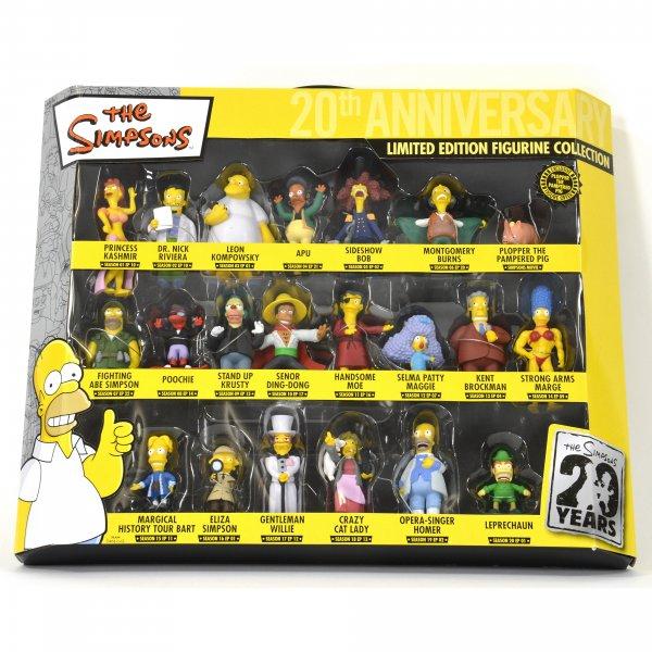 31€ Rabatt @Elfen.de - Simpsons Figurenset: 21 Figuren für 21,49Euro (statt 52,49Euro)