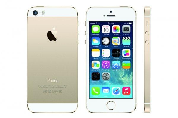 Iphone 5s Gold 16GB (B-Ware, vom Lieferanten geprüft, 14täg Rückläufer, voller Lieferumfang)