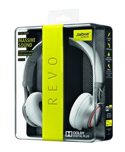 [Amazon.co.uk] Jabra Revo On-Ear-Kopfhörer (3,5mm Klinkenstecker) weiß für ca. 93,39 € inkl. Vsk