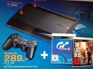 Ps 3 bundle GT 6 + the Last of us