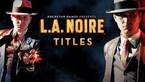 L.A. Noire Complete oder nur DLC Bundle (PC-Steam-Keys @greenmangaming.com)