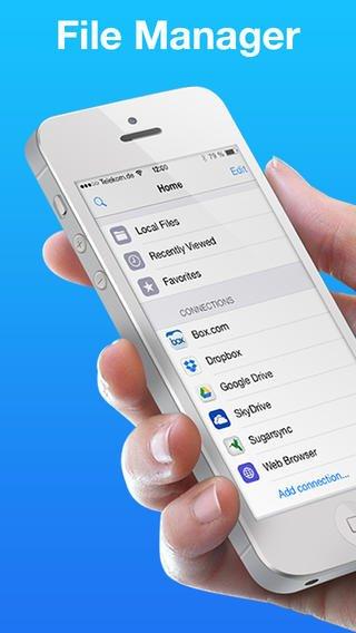 Files United – Dokumenten Manager für iPhone und iPad kostenlos statt 4,49 €