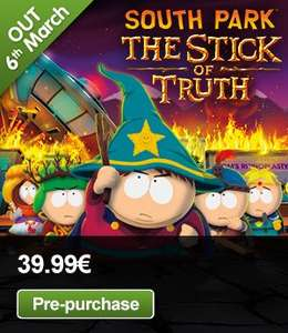 [STEAM] [GMG] South Park: The Stick of Truth für 30,00 Euro vorbestellen!
