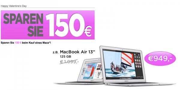 150 € Gutschein - MacTrade: Apple iMac, Mac Pro, Macbook Pro & Air billiger