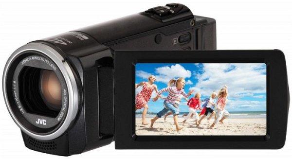 JVC GZ-E 105 schwarz  Full-HD Cam / 40xopt.Zoom @MediaMarkt online