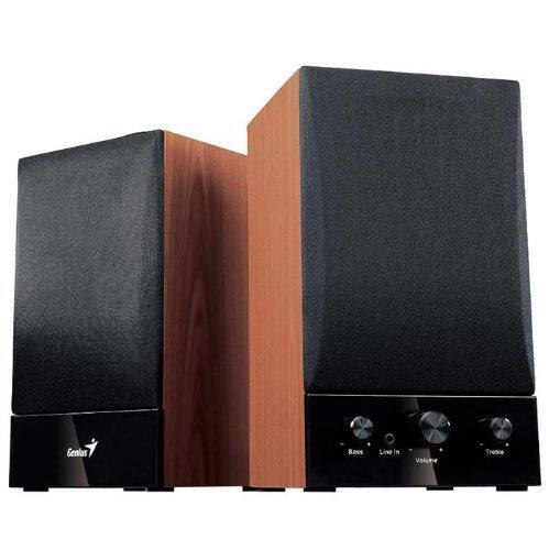Genius SP-HF1250B 2-Wege Aktivbox Lautsprecher (40 Watt RMS) [Amazon WHD]