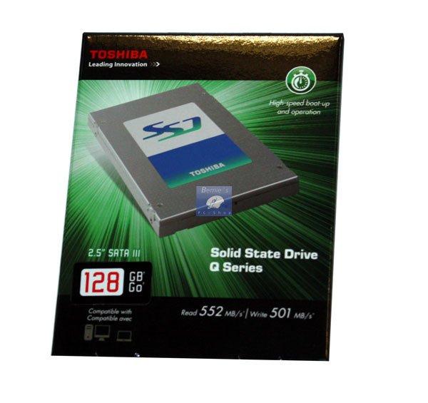 Toshiba 128Gb SSD für 66,66 Eur bei Bernies PC Shop...(lokal)